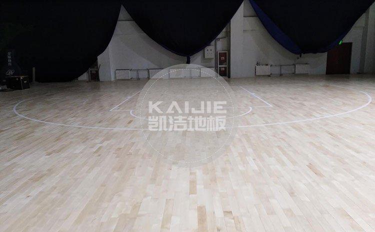 北京健身房运动木地板厂家哪家好——凯洁地板