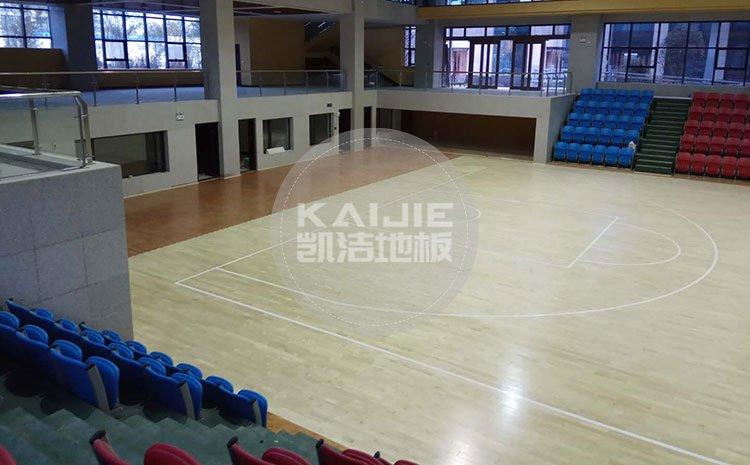 专业篮球馆木地板体育性能是什么——篮球地板价格