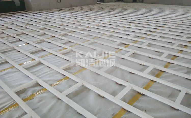 上海地材展,运动木地板厂家有哪些——凯洁地板