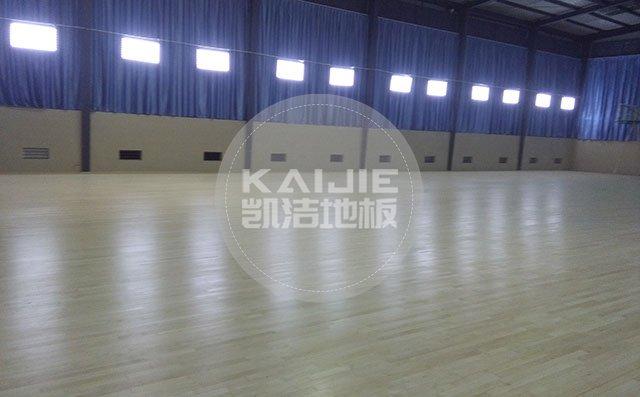 桂林体育馆篮球木地板品牌哪家好——凯洁地板