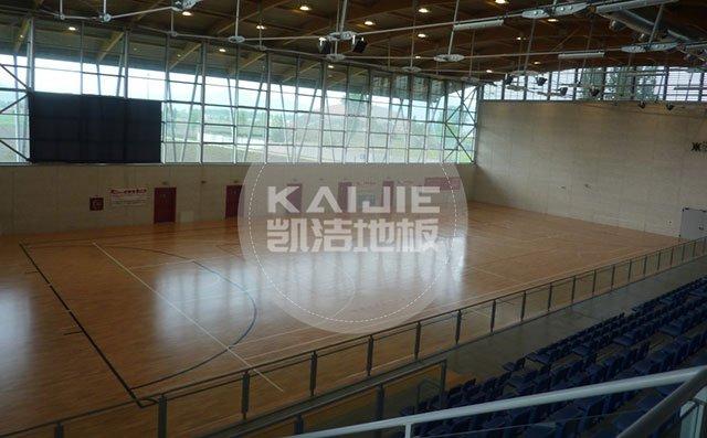 体育运动场馆木地板伸缩缝怎么处理比较好——篮球馆木地板
