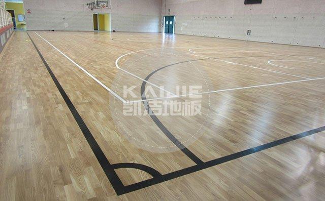国内体育馆运动木地板市场好做吗——篮球地板价格