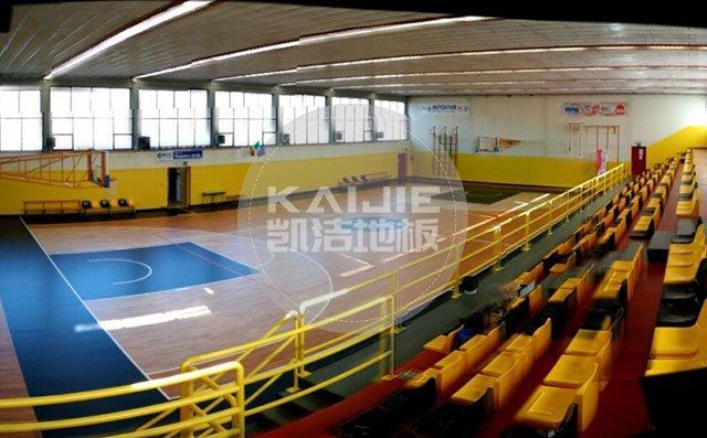 体育馆实木运动地板损坏怎么维修——篮球木地板厂家