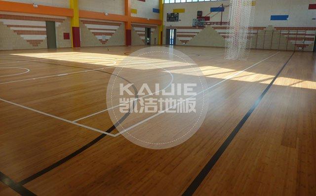 羽毛球馆木地板使用什么材质好——运动地板厂家