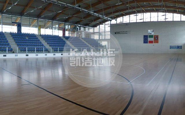 室内篮球馆木地板十大品牌哪个好——凯洁地板