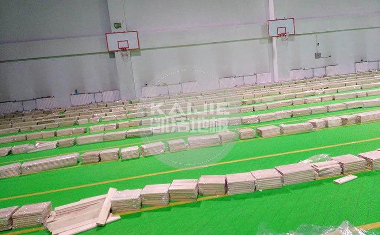 揭阳体育馆运动木地板价格一平米多少钱——篮球地板价格