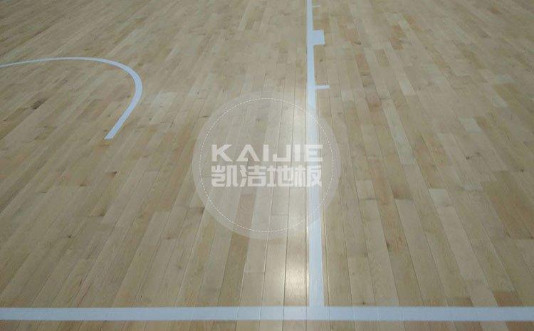 揭阳体育馆运动木地板价格一平米多少钱——凯洁地板