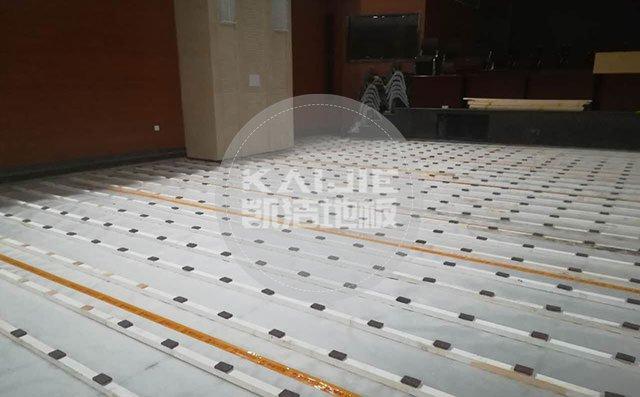 上海地材展,体育运动地板厂家争奇斗艳——体育地板品牌