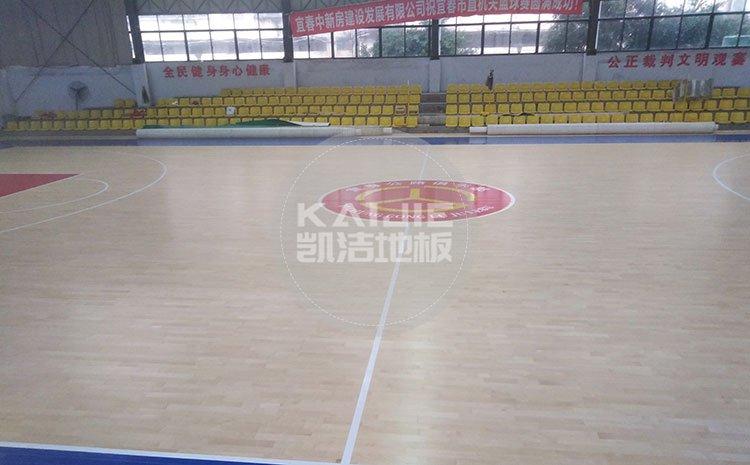 柳州体育场馆木地板品牌哪个好——凯洁地板