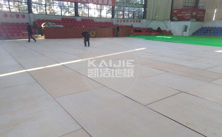 绵阳篮球馆木地板变形后该怎么办——体育运动地板厂家