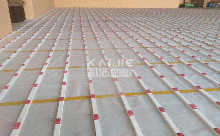 南京体育馆木地板厂家选择哪个好——凯洁地板