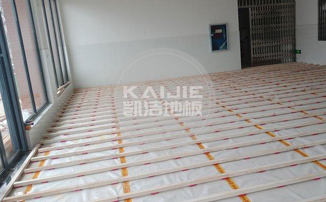 深圳健身房实木运动地板保养有什么技巧——凯洁地板