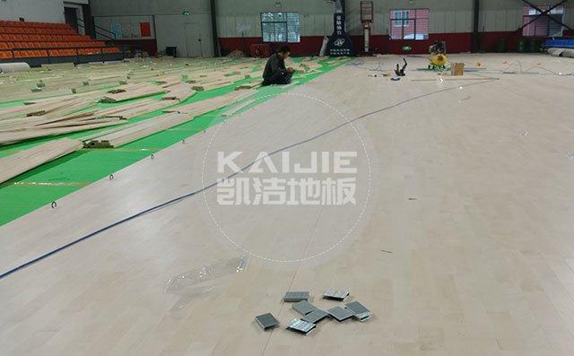 商丘室内篮球场专用木地板厂家有哪些——凯洁地板