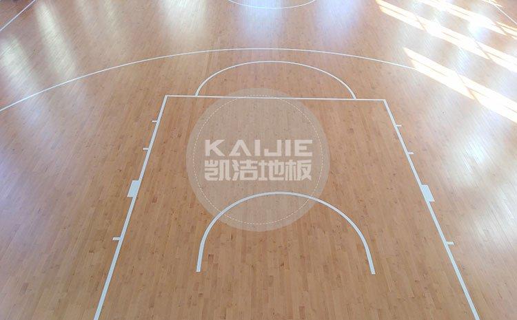 绍兴体育馆实木地板翻新哪家好——凯洁地板