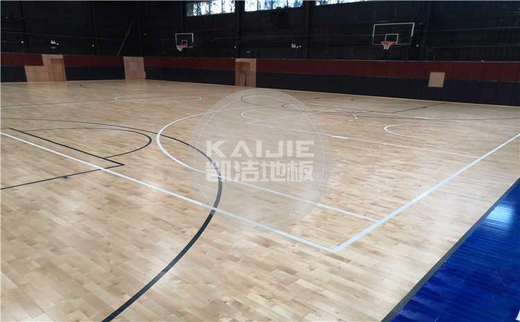 厦门埃里克概念篮球馆木地板项目