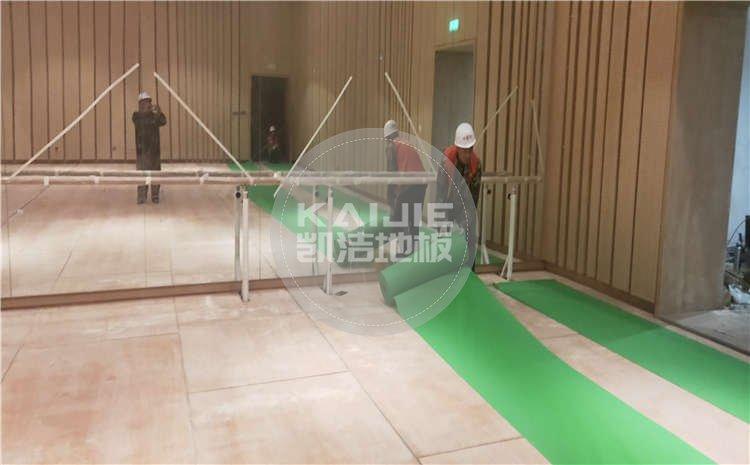 河北廊坊大剧院舞台木地板项目