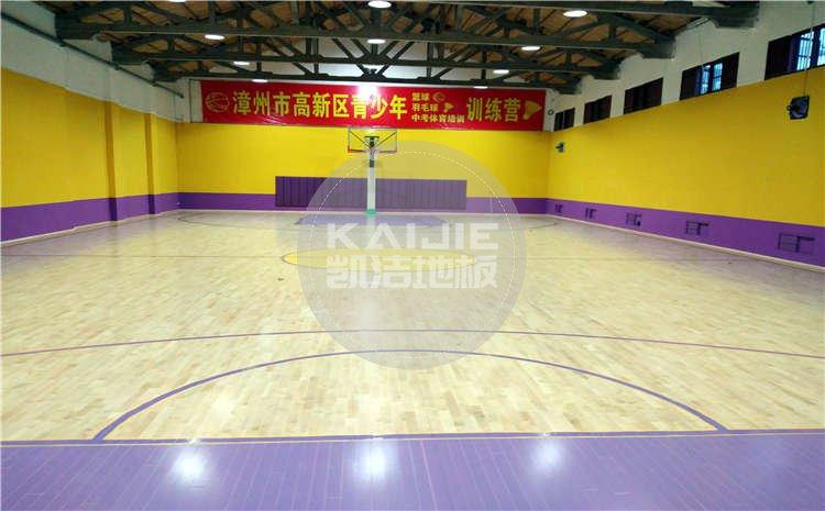 福建漳州SG高新球馆木地板案例