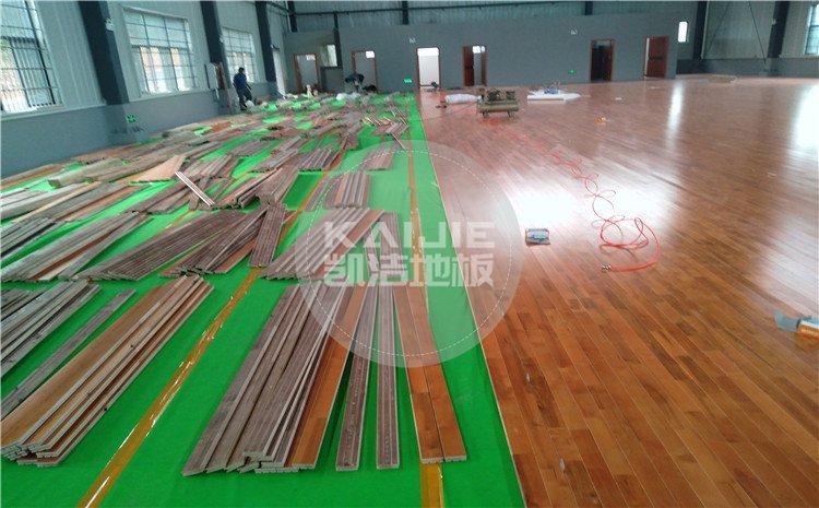 邵阳市纪检办案场所篮球馆木地板图片