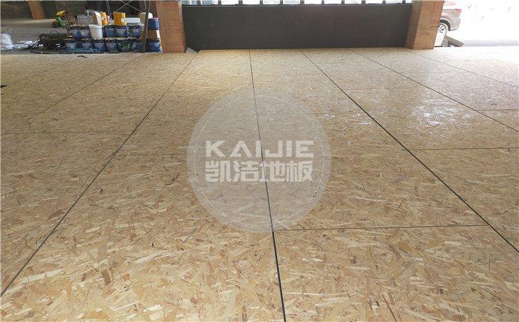 泉州L.A篮球公园篮球馆木地板图片