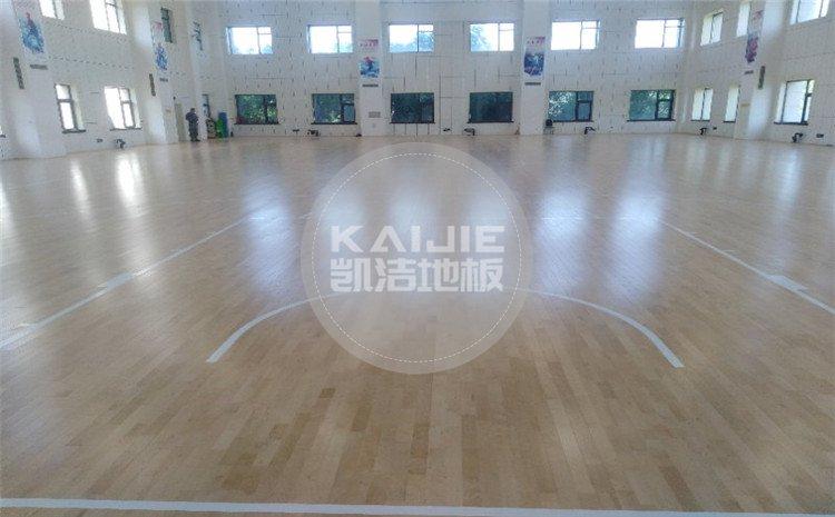 中国空中交通管制综合训练场篮球馆木地板案例