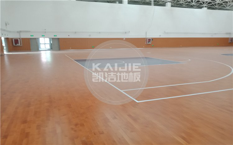 山东邹城*一中学孟子湖校区学校体育馆js33333项目——js33333金沙线路体育地板