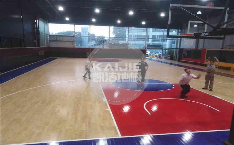 厦门尼声运动馆木地板——凯洁体育地板