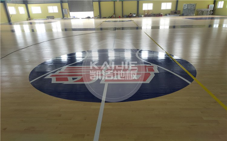 广东省江门市开平市寻梦篮球馆运动木地板——凯洁体育地板
