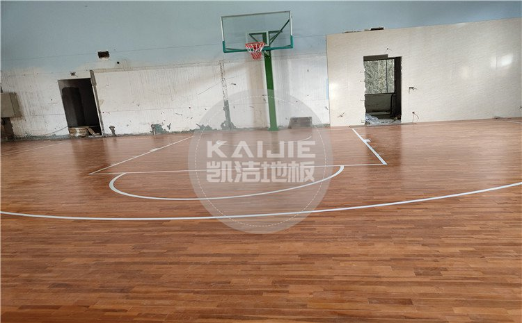 四川劳研科技有限公司篮球馆木地板案例—凯洁体育木地板厂家