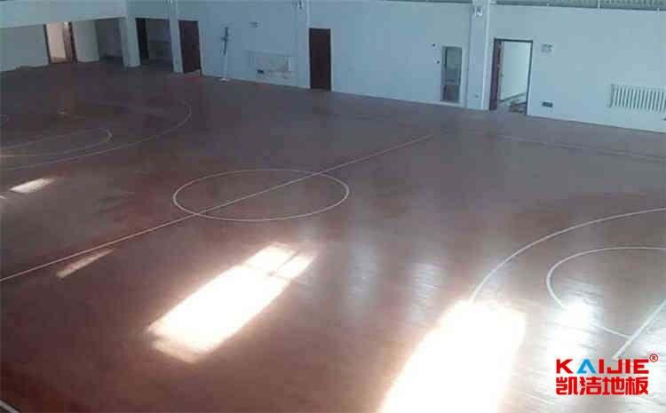 郑州专用体育地板施工