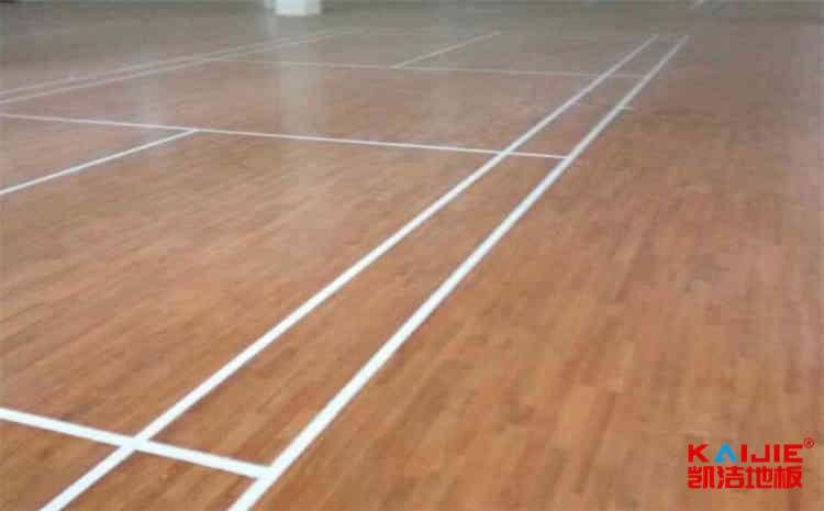 篮球木地板施工队