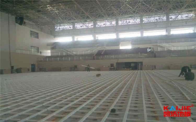 壁球馆需要使用专业运动木地板吗——凯洁地板
