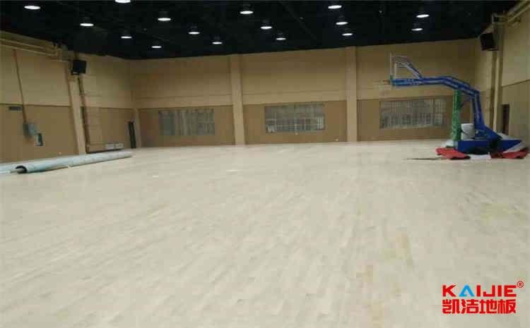 篮球单层木地板厂家