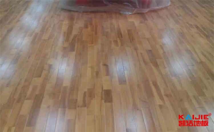 硬木企口舞台运动木地板主辅龙骨结构