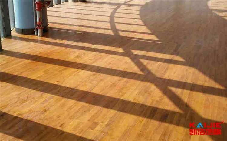 青海舞台木地板功能——实木运动地板
