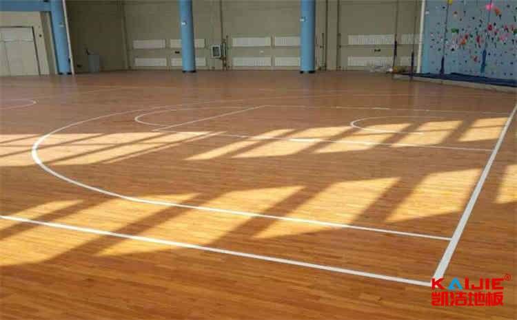 体育馆木地板安装注意事项——实木运动地板