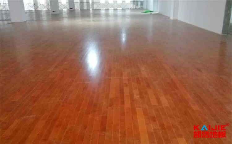 室内体育馆地板施工工艺