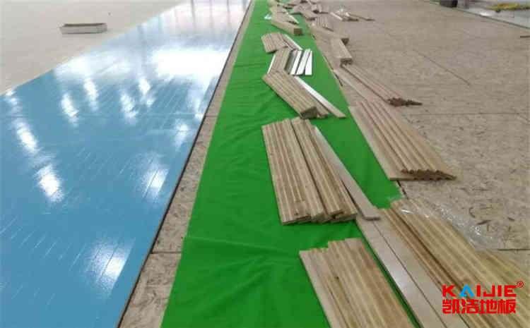 舞台实木地板怎么做防潮防腐