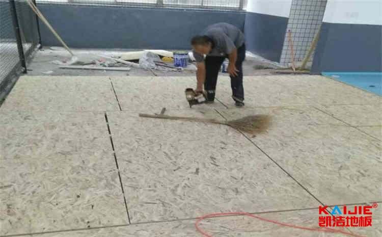 篮球馆木地板是越重越好吗——凯洁地板