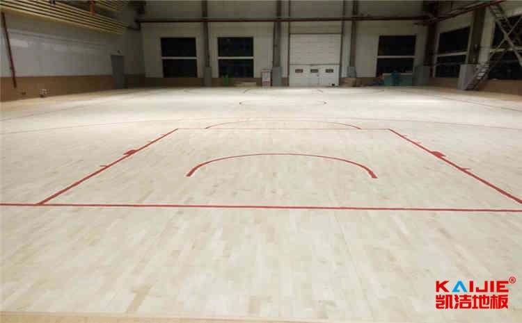 山东运动木地板生产厂家——凯洁地板