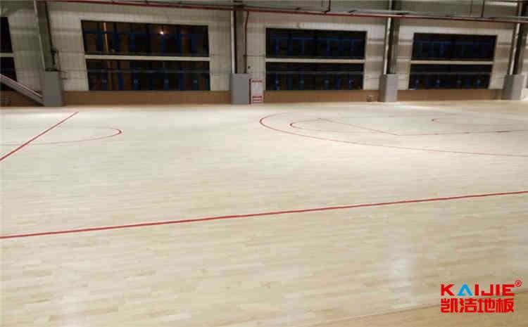体育馆木地板常见龙骨结构——凯洁地板