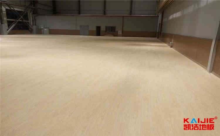 体育场馆木地板结构