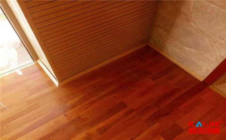 健身房运动木地板安装