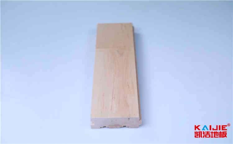 上饶运动型枫木地板生产厂——凯洁地板
