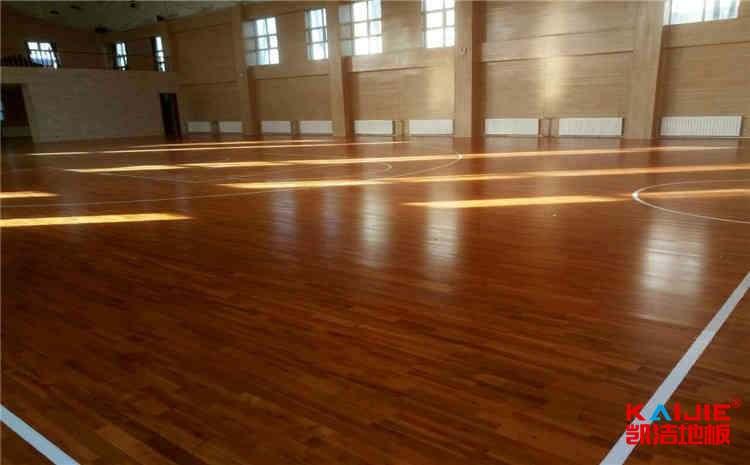 进口篮球场木地板怎么安装