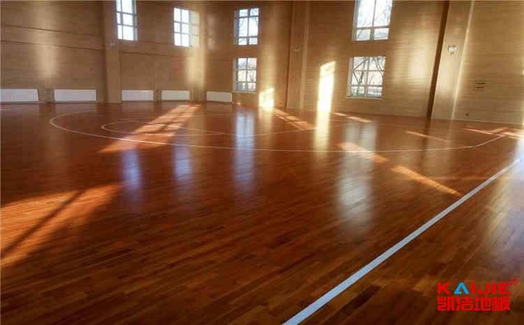 专用体育场木地板保养