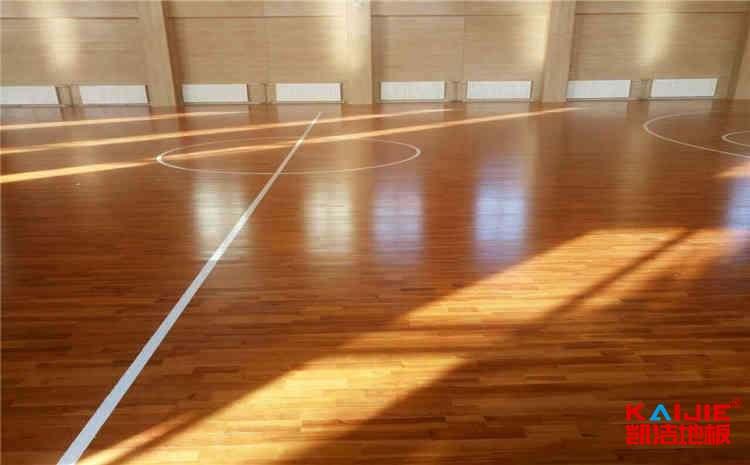 篮球体育木地板施工