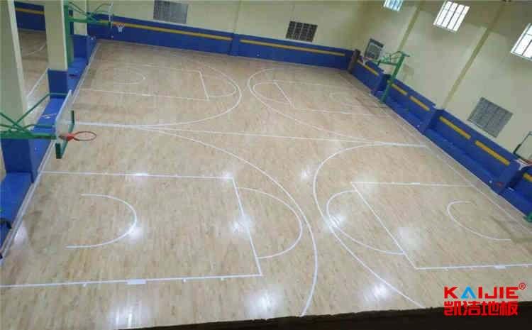 体育场运动木地板打磨翻新流程——体育木地板