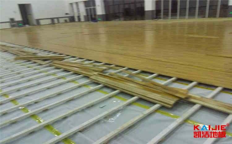 篮球场运动木地板安装详细要求