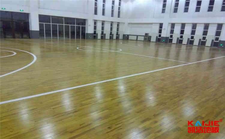 体育木地板结构中找平垫块与减震垫块的区别