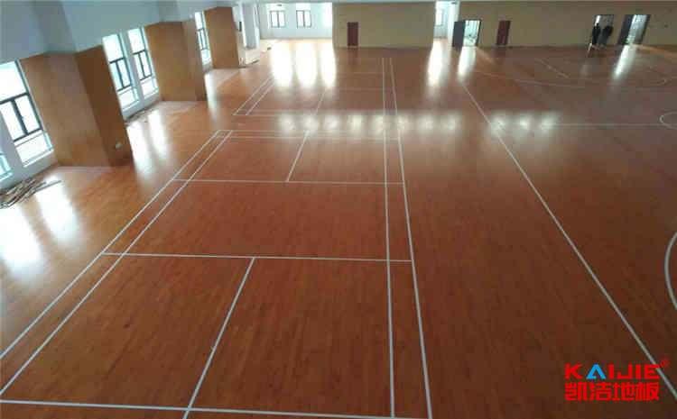 篮球馆专用木地板保养注意事项